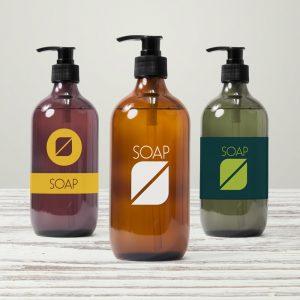 etichette cosmetici creme crema sapone adesivi naturali